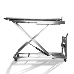 Mortuary Trolley for Body Tray Lifting - Minus40
