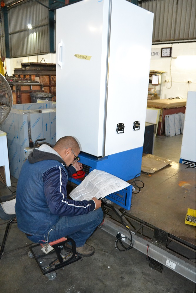 Minus40 also offers full service and backup for its products