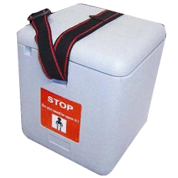 Vaccine Carrier Boxes With Ice Packs